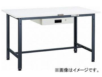 トラスコ中山 AE型作業台 1800X750XH740 薄型1段引出付 W色 AE-1800UDK1W(7701624)
