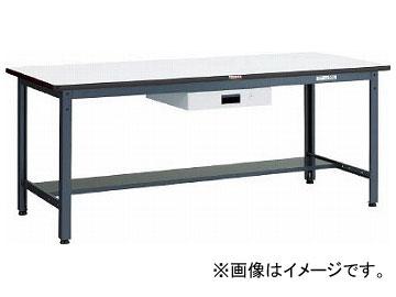 トラスコ中山 AEWS型作業台 900×600×H740 薄型1段引出付 AEWS-0960UDK1(7701896)