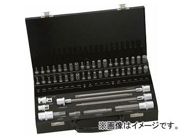 バーコ 自動車向けソケットビット+ビットセット BE5049(4982339) 入数:1セット(49本)