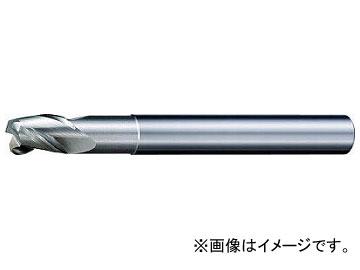三菱K ALIMASTER超硬ラジアスエンドミル(アルミニウム合金用・S) C3SARBD1800R100(7154895)