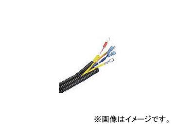 パンドウイット コルゲートチューブ ポリエチレン スリット付き 黒 CLT125F-L20(4401450)