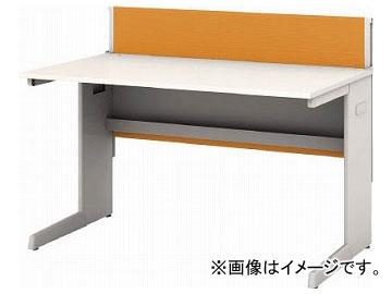 IRIS デスクパネル・コンセント付デスク幅1200mm オレンジ CPD-1270-W-OG(7594135)