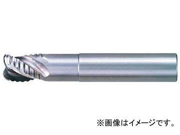三菱K ALIMASTER超硬ラフィングラジアスエンドミル(アルミニウム合金用) CSRARBD2500R400(7160691)