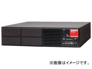 SANUPS UPS本体(750VA(525W)6分 AC100-120V) E11A751B001UJ(7699875)