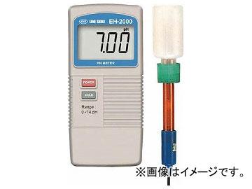 ライン精機 デジタルPH計 EH-2000(7517319)