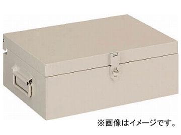 トラスコ中山 小型ツールボックス 中皿付 400×300×150 F-400(7636342)