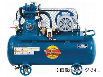 富士 汎用形空冷コンプレッサー0.75KW 50Hz FS-07APMT-50(7712324)