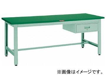 トラスコ中山 GWP型作業台 1800X900XH740 1段引出付 GWP-1890F1(7701977)