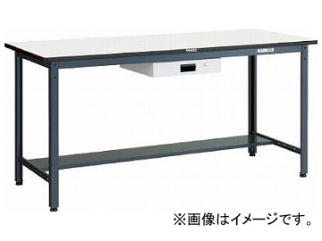 トラスコ中山 HAEWS型立作業台 900X600XH885 薄型1段引出付 HAEWS-0960UDK1(7702159)