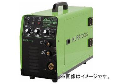 育良 100V・200V兼用半自動溶接機 ISK-SA160W(7727569)