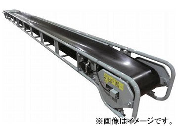KYC バラ物用コンベヤ350幅 機長7m プレートキャリア式 KMTA35-7(7512911)