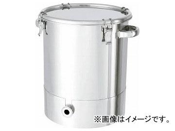 日東 ステンレスタンク片テーパー型クリップ式密閉容器 150L KTT-CTH-565(7516045)