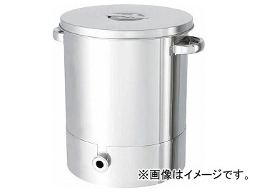 日東ステンレスタンク片テーパー型汎用容器200LKTT-ST-565H(7516118)