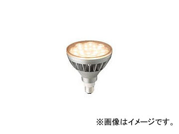 岩崎 LEDアイランプ ビーム電球形14W 光色:電球色(2700K) LDR14L-W/827/PAR(7757697)