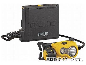 タジマ ペタLEDヘッドライトE301イエロー LE-E301-Y(7546840)