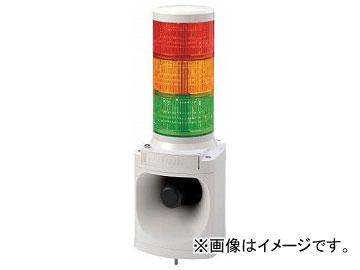 パトライト LED積層信号灯付き電子音報知器 LKEH302FARYG(7514689)