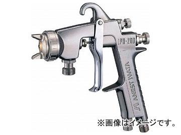 アネスト岩田 自動車ライン塗装用大形圧送式低圧スプレーガン φ1.2 LPH-200-122P(5147034)