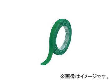 トラスコ中山 マジックバンド結束テープ 両面 幅40mm×長さ30m 緑 MKT-40W-GN(7542500)