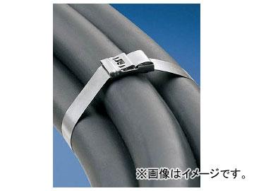 パンドウイット MS(バックルロック式)ステンレススチールバンド MS8W50T15-L4(4348346) 入数:1袋(50本)