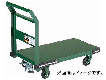 トラスコ中山 鋼鉄製運搬車 900X600 φ150鋳物車輪 LS付 OH-2SS(7680775)