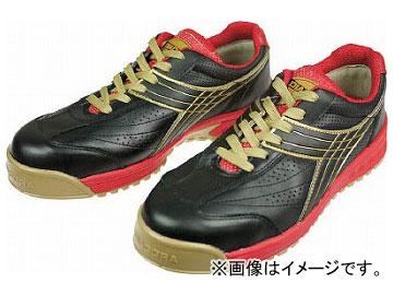 ディアドラ 安全作業靴 ピーコック 黒 27.5cm PC22-275(4956320)