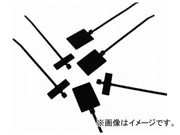 パンドウイット 旗型タイプナイロン結束バンド 耐候性黒 PLF1MA-M0(4382749) 入数:1袋(1000本)