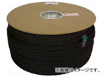 ユタカ ポリエステルクロス係留ドラム巻 9φ×150m 黒 PRD-51(7541171)