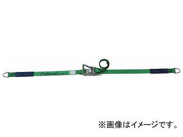 オールセーフ ラッシングベルト ラチェット式デルタリング仕様重荷重 R5DR14(7635354)