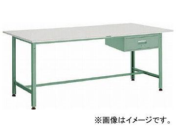 トラスコ中山 RAE型作業台 900×600×H740 1段引出付 RAE-0960F1(2784343)