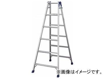 ハセガワ アルミはしご兼用脚立 標準タイプ RD型 6段 RD-18(4965990)