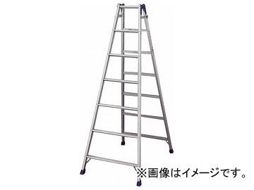 ハセガワ アルミはしご兼用脚立 標準タイプ RD型 7段 RD-21(4966007)