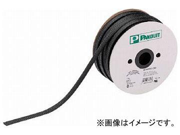 パンドウイット スーパーネットチューブ(ほつれ防止タイプ) 黒 SE50PSC-CR0(4974042)