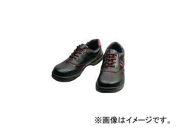 シモン 安全靴 短靴 SL11-R 黒/赤 24.0cm SL11R-24.0(3255557)