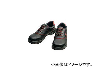 シモン 安全靴 短靴 SL11-R 黒/赤 25.0cm SL11R-25.0(3255573)