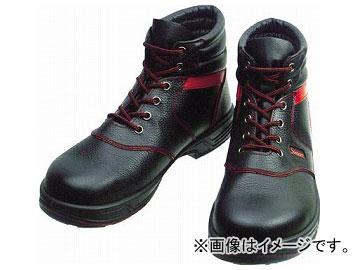 シモン 安全靴 編上靴 SL22-R 黒/赤 24.5cm SL22R-24.5(3255654)