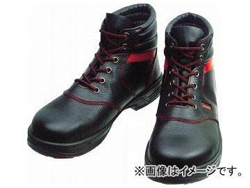 シモン 安全靴 編上靴 SL22-R 黒/赤 26.0cm SL22R-26.0(3255671)