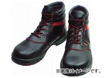 シモン 安全靴 編上靴 SL22-R 黒/赤 27.5cm SL22R-27.5(3255701)