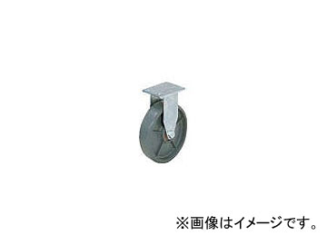 スガツネ工業 重量用キャスター径203 固定SE(200-133-378) SUG-8-808R-PSE(5840520)