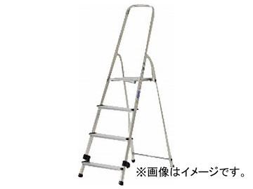 アルインコ 上枠付専用脚立 天板高さ77cm 最大使用質量150kg TBF4(7727500)
