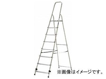 アルインコ 上枠付専用脚立 天板高さ162cm 最大使用質量150kg TBF8(7727542)