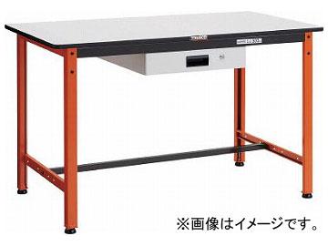 トラスコ中山 TFAEL型作業台 薄型1段引出付 1200×600×H740 TFAEL-1260UDK1(7703597)