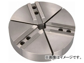 THE CUT 円形生爪 北川・松本製 8インチ チャック用 TKR-08(7607474) 入数:1セット(3個)