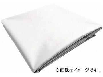 トラスコ中山 ターポリンシート ホワイト 1800×3600 0.35mm厚 TPS1836-W(7654324)