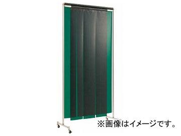 吉野 クグレール 遮光用衝立のれん型1×2 キャスター付 イエロー YS-12SC-KG-Y(7684886)