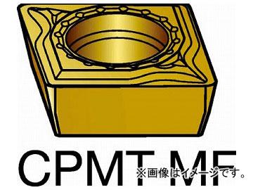 サンドビック コロターン111 旋削用ポジ・チップ COAT CPMT 06 02 04-MF 2015(5694817) 入数:10個