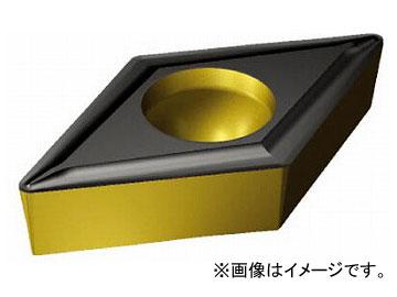 サンドビック コロターン107 旋削用ポジ・チップ COAT DCMT 07 02 04-UF 4325(6127410) 入数:10個