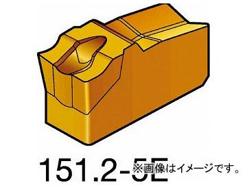 サンドビック T-Max Q-カット 突切り・溝入れチップ COAT R151.2-400 05-5E 1125(5735912) 入数:10個
