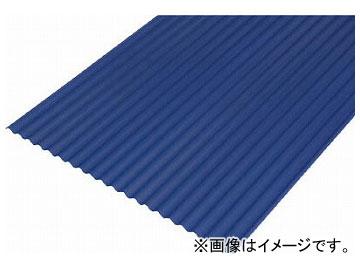 IRIS 硬質塩ビ波板 10尺 ナチュラルブルー NIPVC-1008-NB(5136318) 入数:10枚