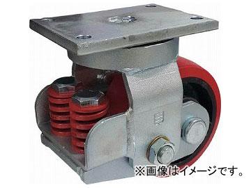 SAMSONG CASTER スプリング機能付きキャスター 自在200mm 耐荷重1100kg TP7581-PCI-BB(7959753)