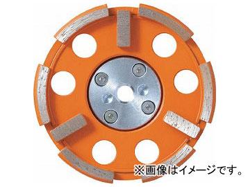 ナニワ 研削達人 三文字カップ 外R型 ショックレスフランジ付 NP-5712(7886926)